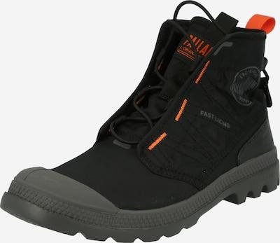 Auliniai batai su raišteliais 'PAMPA' iš Palladium , spalva - tamsiai pilka / juoda, Prekių apžvalga