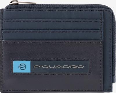 Piquadro Kreditkartenetui 'PQ-Bios' in dunkelblau / dunkelbraun, Produktansicht