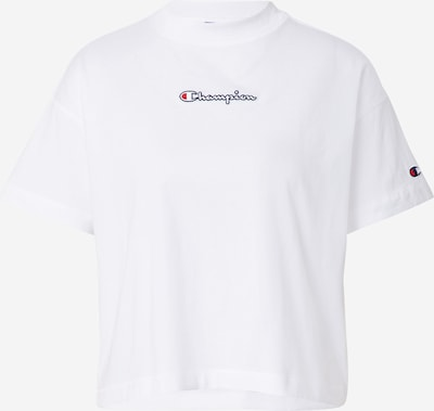 Champion Authentic Athletic Apparel T-shirt en bleu marine / rouge / blanc, Vue avec produit