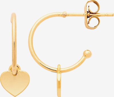 Estella Bartlett Pendientes 'Heart' en oro, Vista del producto