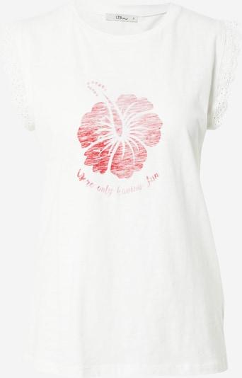 LTB Shirt in rotmeliert / weiß, Produktansicht