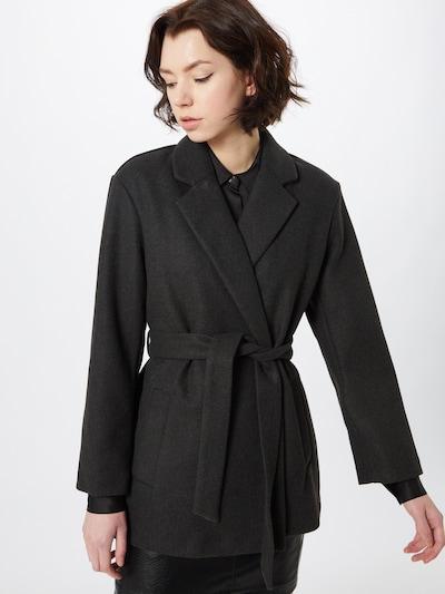 Palton de primăvară-toamnă ONLY pe gri metalic, Vizualizare model