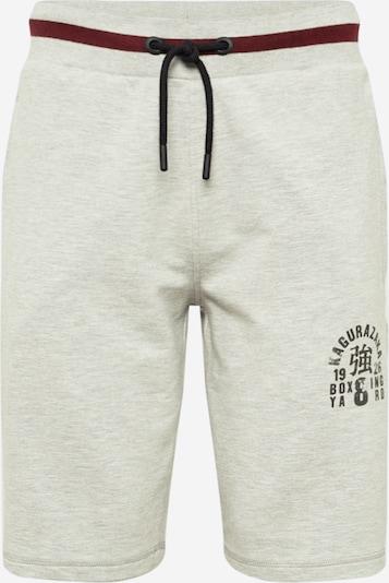 Superdry Spodnie sportowe w kolorze szary / bordowy / czarnym, Podgląd produktu