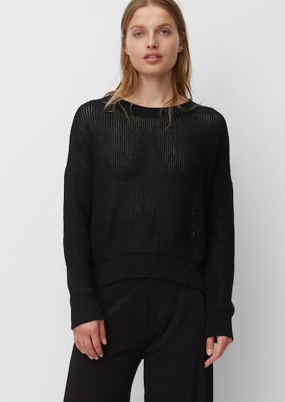 Marc O'Polo Strickpullover in schwarz, Modelansicht