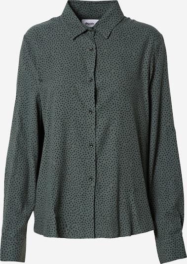 Brava Fabrics Blouse in de kleur Donkergroen / Zwart, Productweergave