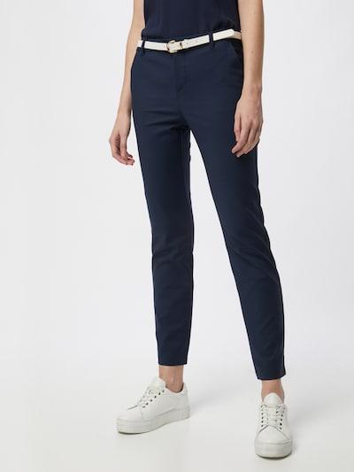 Pantaloni chino 'Leah' VERO MODA di colore blu scuro, Visualizzazione modelli