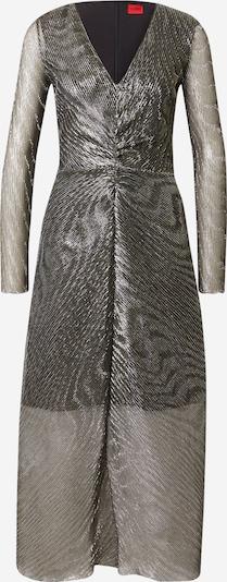 HUGO Robe de cocktail 'Keglissy-1' en or / kaki, Vue avec produit