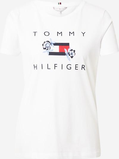 Maglietta TOMMY HILFIGER di colore navy / blu chiaro / rosso / bianco, Visualizzazione prodotti