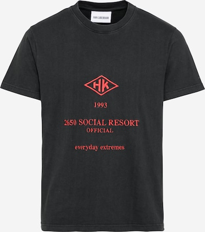 Han Kjøbenhavn Shirt 'Artwork' in Light red / Black, Item view