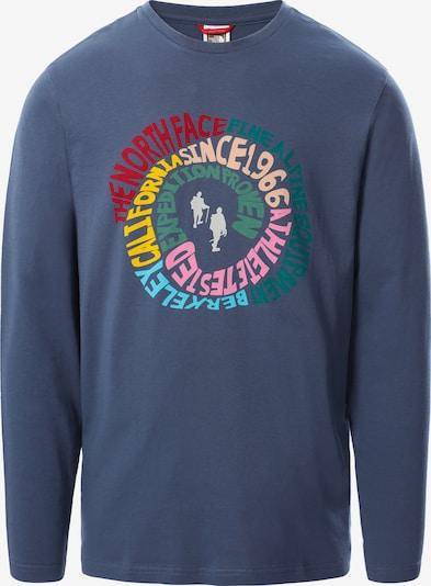 THE NORTH FACE Sweat-shirt en bleu / mélange de couleurs, Vue avec produit