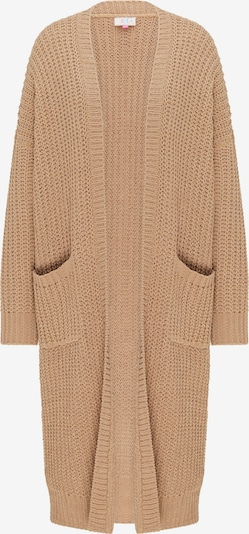 IZIA Knitted coat in light brown, Item view