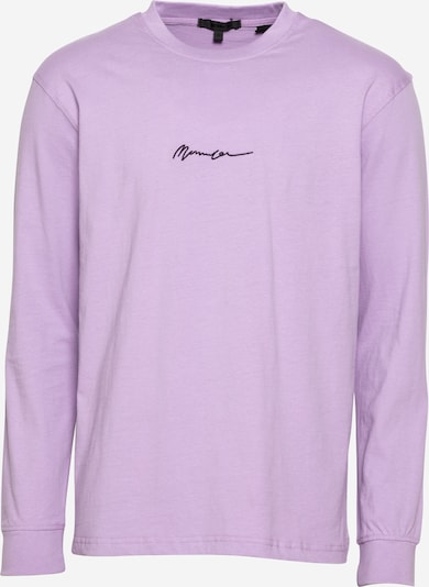 Mennace T-Krekls purpura / melns, Preces skats