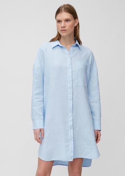 Marc O'Polo Robe-chemise en bleu clair, Vue avec modèle