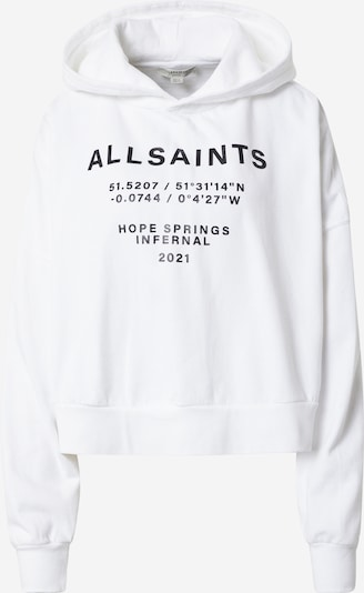 AllSaints Majica | črna / bela barva, Prikaz izdelka