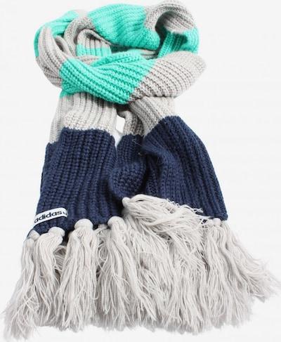 ADIDAS Fransenschal in One Size in blau / türkis / hellgrau, Produktansicht