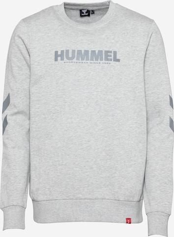 Hanorac sport de la Hummel pe gri