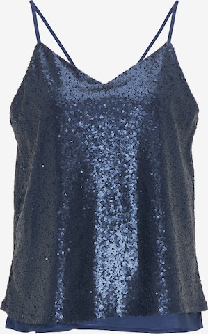 myMo at night Top in Blauw