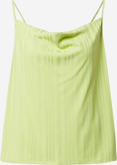 JAN 'N JUNE Haut 'Helen' en vert clair, Vue avec produit