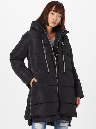 ONLY Χειμερινό παλτό 'NORA' σε μαύρο, Άποψη μοντέλου