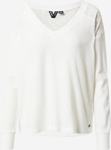 Tricou 'CANDY' de la ROXY pe alb