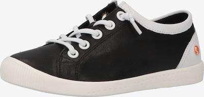 Softinos Sneakers laag in de kleur Zwart / Wit, Productweergave