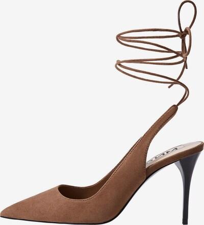 MANGO Schuh tirita in braun, Produktansicht