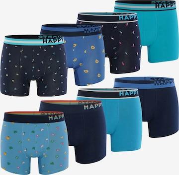 Boxers ' 8-Pack ' Happy Shorts en bleu