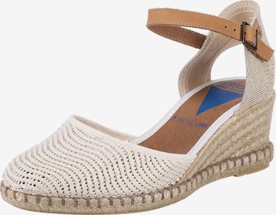 VERBENAS Sandalette 'Lato' in beige / weiß, Produktansicht