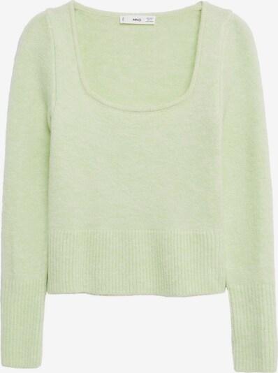 MANGO Pullover in pastellgrün, Produktansicht