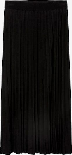 Marc O'Polo Plisseerock in schwarz, Produktansicht