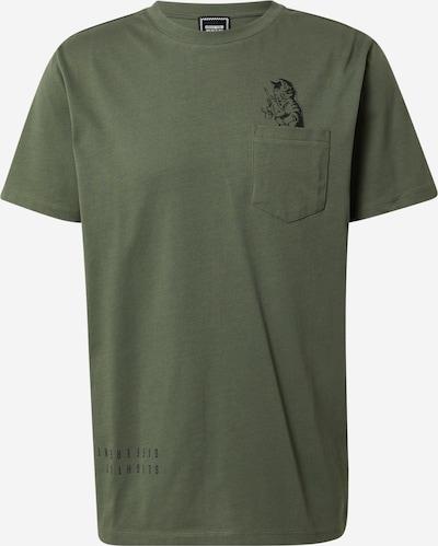 ABOUT YOU x Swalina&Linus T-Shirt 'Liam' en kaki, Vue avec produit