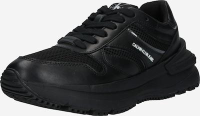 Sneaker low Calvin Klein Jeans pe negru, Vizualizare produs