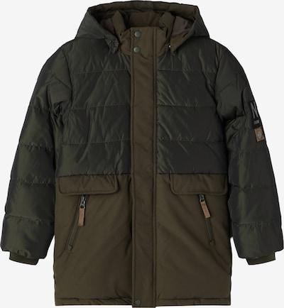 NAME IT Between-Season Jacket 'Manuel' in Anthracite / Olive, Item view