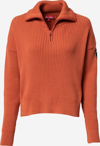 Derbe Sweater 'Nantucket' in Brown