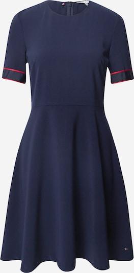 TOMMY HILFIGER Kleid 'Fit&Flare' in dunkelblau / rot, Produktansicht