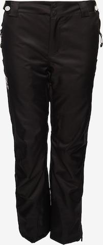 Superdry Snow Skihose 'Luxe' in Schwarz