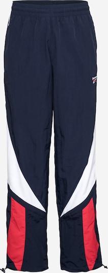 Reebok Sport Pantalon de sport 'Twin Vector' en bleu foncé / rouge / blanc, Vue avec produit