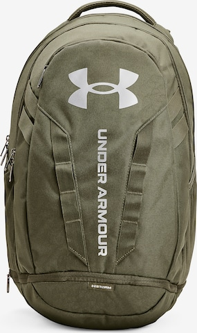 UNDER ARMOUR Sports Backpack ' Hustle ' in Green