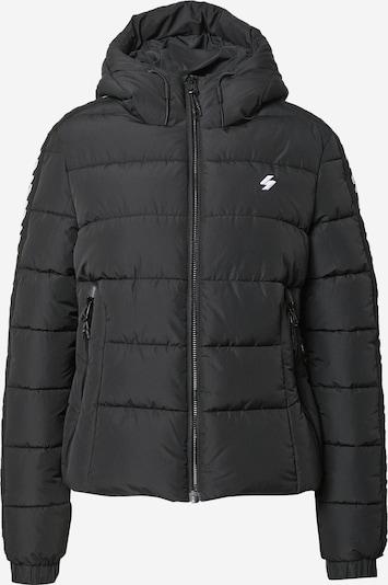 Superdry Jacke in schwarz / weiß, Produktansicht