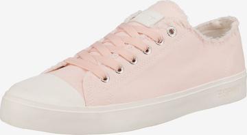 Sneaker low 'Nova' de la ESPRIT pe roz