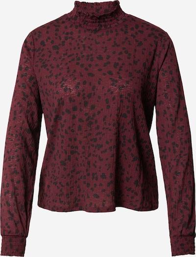 ONLY Shirt 'PELLA' in de kleur Wijnrood / Zwart, Productweergave