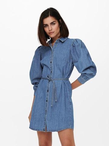 ONLY Kleid in Blau