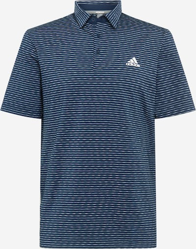 adidas Golf Funktionsshirt in navy / weiß, Produktansicht