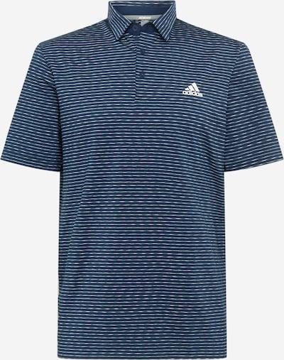 adidas Golf T-Shirt fonctionnel en bleu marine / blanc, Vue avec produit