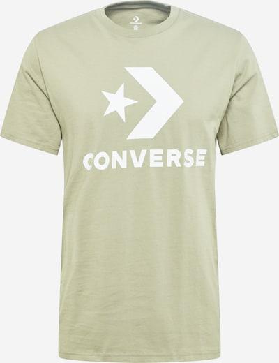 CONVERSE T-Shirt 'Star' in hellgrün / weiß, Produktansicht
