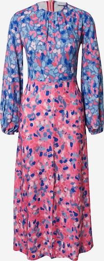 Closet London Kleid in blau / himmelblau / hellblau / pink / hellpink, Produktansicht