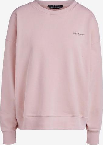 SET Sweatshirt in Pink