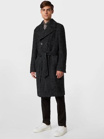 Manteau mi-saison 'Christoph' Oscar Jacobson en noir