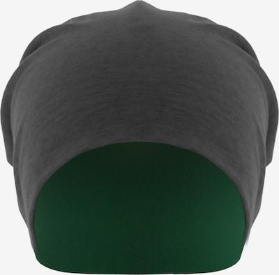 MSTRDS Bonnet 'Jersey Beanie reversible ' en gris foncé, Vue avec produit