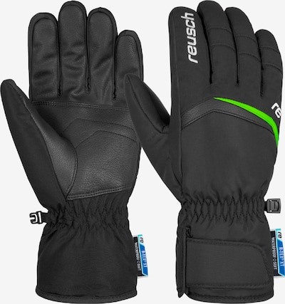 REUSCH Skihandschuhe 'BALIN' in neongrün / schwarz, Produktansicht